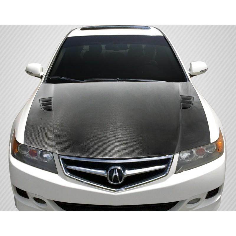 2006-2008 Acura TSX Carbon Creations DriTech R-Spec Hood