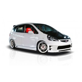 2007-2008 Honda Fit Couture Urethane GD-R Side Skirts Rocker Panels - 2 Piece (Overstock) 103236