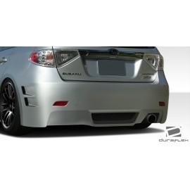 2008-2011 Subaru Impreza 5DR 2008-2010 Impreza WRX 5DR Duraflex C-Speed 3 Rear Bumper Cover - 1 Piece 107867