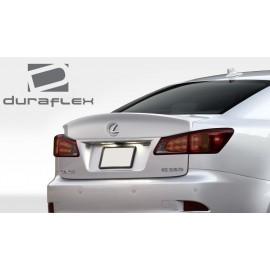 2006-2013 Lexus IS Series IS250 IS350 IS250C IS350C IS-F Duraflex W-1 Rear Wing Trunk Lid Spoiler - 1 Piece 108678