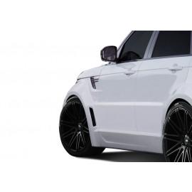 2014-2015 Land Rover Range Rover Sport Urethane AF-2 Wide Body Front Fender Flares ( PUR-RIM ) - 4 Piece 112679