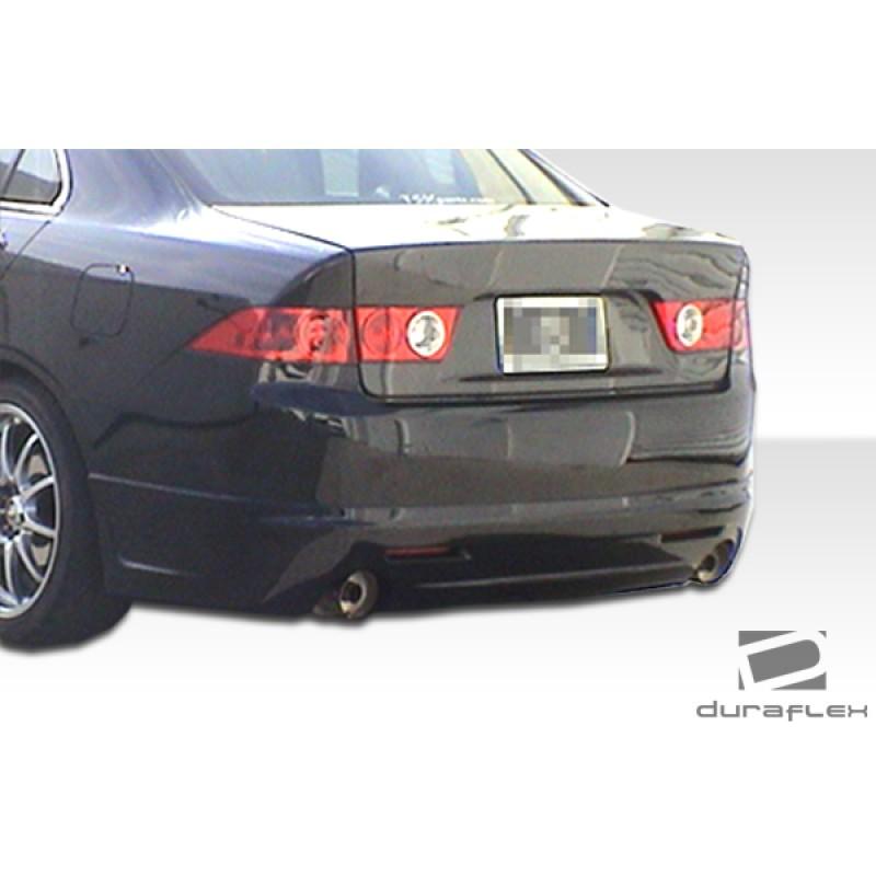 2004-2005 Acura TSX Duraflex K-1 Rear Lip Under Spoiler
