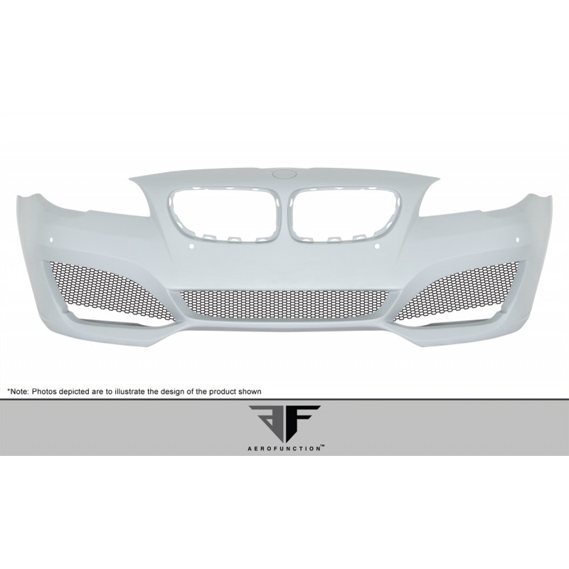 2011-2016 BMW 5 Series F10 4DR AF-3 Body Kit ( GFK CFP