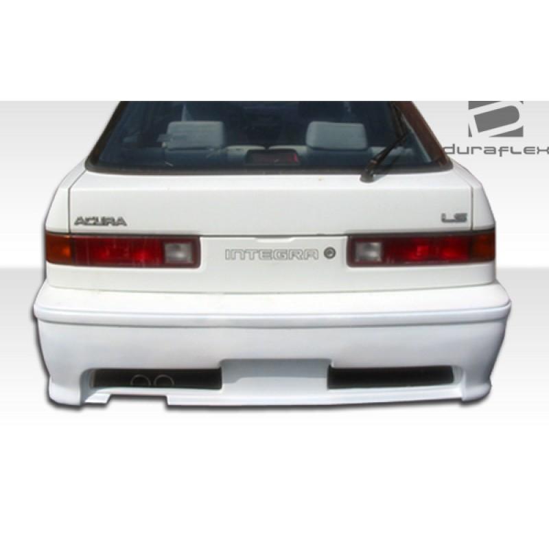 1986-1989 Acura Integra 4DR Duraflex Type M Rear Bumper